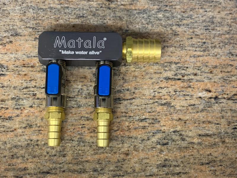 Matala Heavy Duty Air Manifold 2 Way