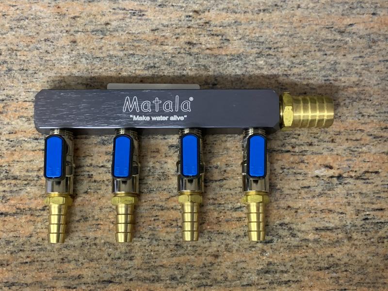Matala Heavy Duty Air Manifold 4 Way