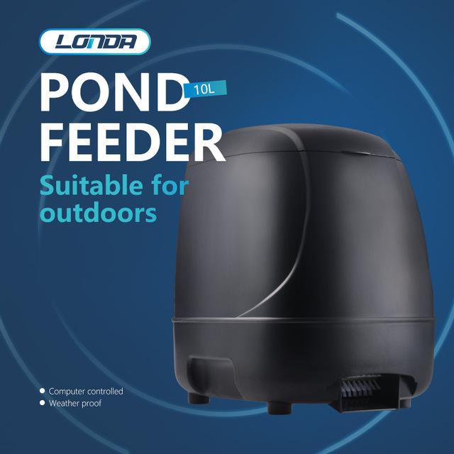 10L Koi Pond Feeder