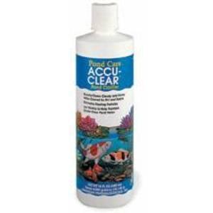 Aquarium Pharmaceuticals Pond Care Accu Clear