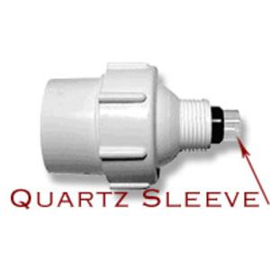 Aqua UV Quartz Sleeve w/ Rubber Seal